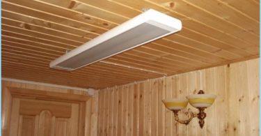 aquecedor de teto infravermelho com termostato